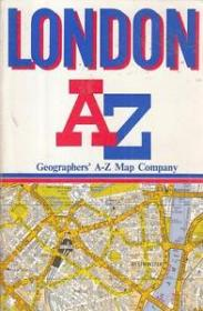 London's A to Z Street Map