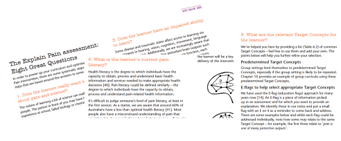 explain pain butler moseley pdf