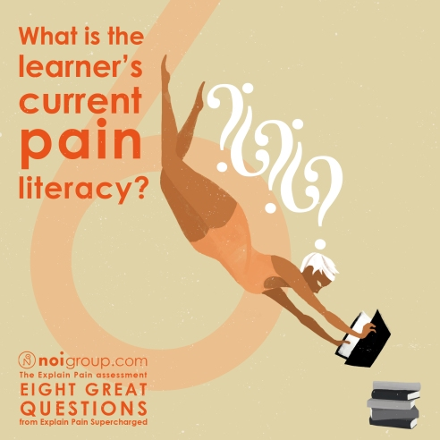 Infographic 6 - what is the learners current pain literacy
